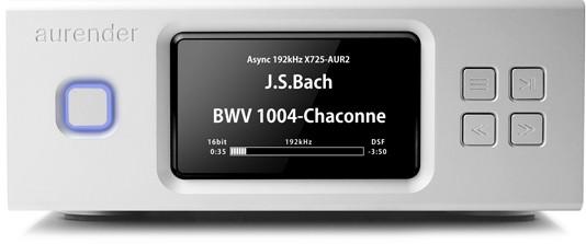 Aurender X 100 - 12 TB Musik-Server und Player