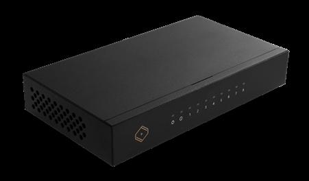 Silent Angel Bonn N8 Netzwerk-Switch von Thunder Data