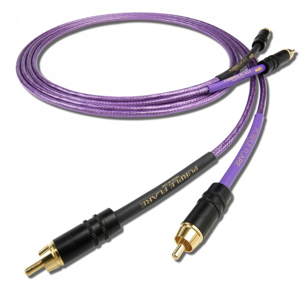 Nordost Purple Flare (Interconnect-Kabel – Cinch / XLR)